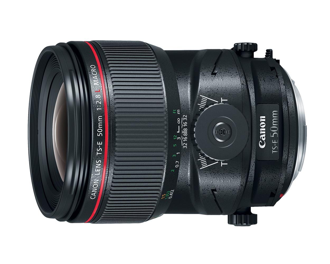 Canon TS-E 50mm F2.8 Macro Tilt-Shift Lens