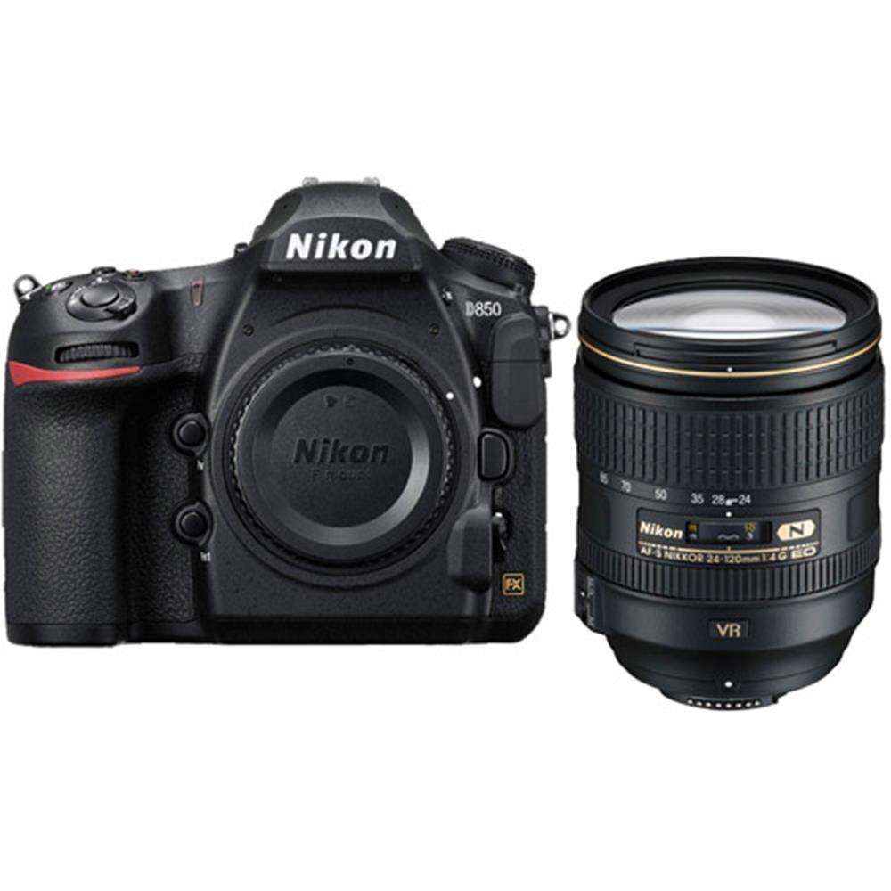 Henrys com : NIKON D850 W/AF-S 24-120 F4 ED VR LENS