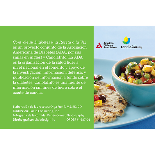 diseño de gráficos de información de la asociación americana de diabetes