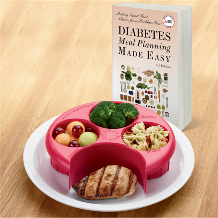 Set Diabetes Meal Planning Made Easy Healthy Portions Meal Measure