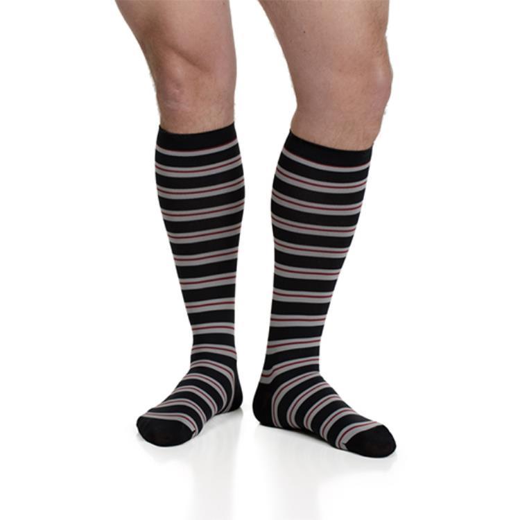 844a8e1bbd Men's Thin Stripes Compression Socks by VIM & VIGR